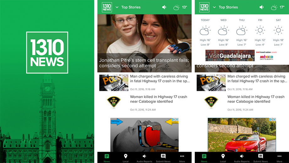 We've completely re-imagined and re-designed the 1310 NEWS app! Check out the updates and let us know what you think!