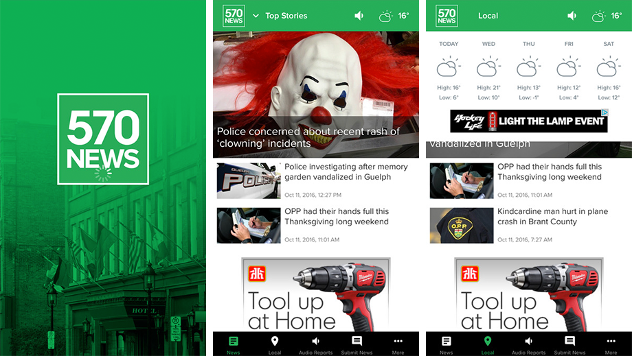 We've completely re-imagined and re-designed the 570 NEWS app! Check out the updates and let us know what you think!