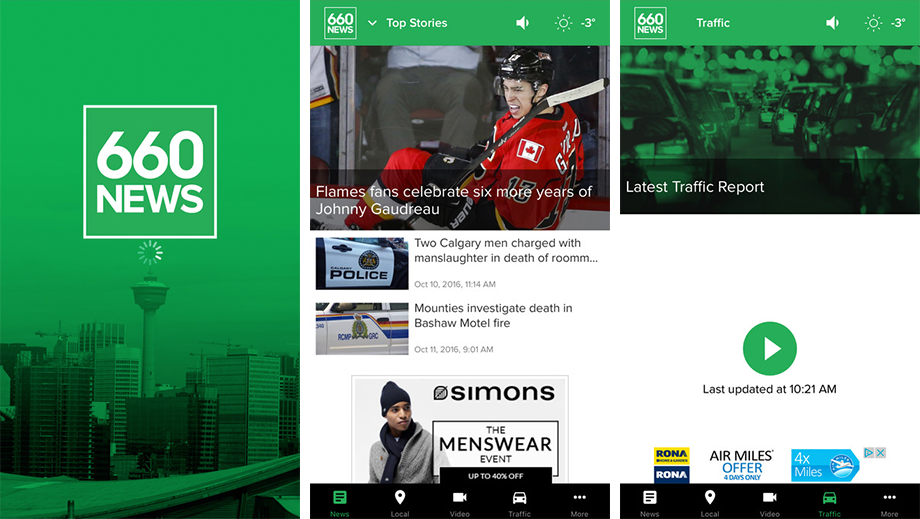 We've completely re-imagined and re-designed the 660 NEWES app! Check out the updates and let us know what you think!